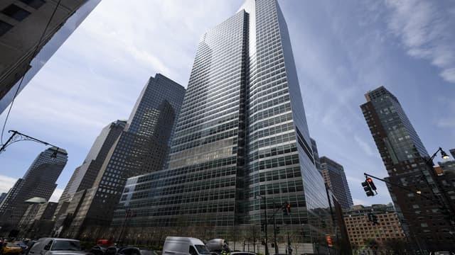 Le siège de Goldman Sachs à New York