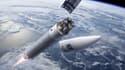 Les quatre nouveaux satellites de Galileo devront être transportés par la fusée Ariane 5 quasiment jusqu'à leur orbite finale, à 22.900 km d'altitude.
