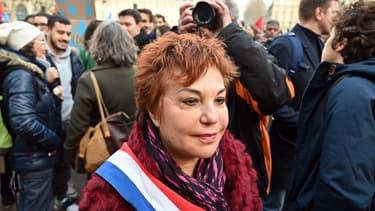 La sénatrice EELV Esther Benbassa, le 11 décembre 2018
