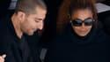 Janet Jackson et Wissam Al Mana à Paris, en octobre 2015
