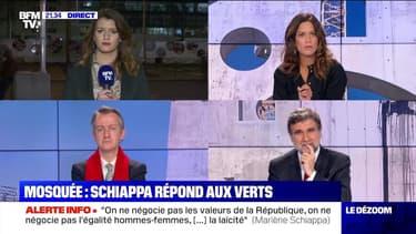 Mosquée à Strasbourg: Schiappa répond aux Verts - 24/03