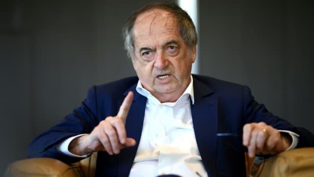 Le président de la Fédération française de football (FFF), Noël Le Graet