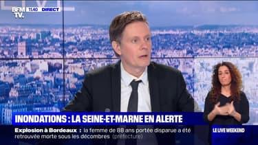 Inondations: la Seine-et-Marne en alerte - 07/02