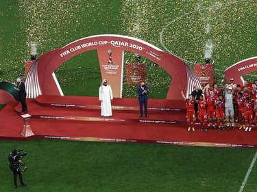 La cérémonie de remise des  médailles du Mondial des clubs 2020 a fait polémique