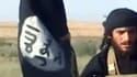 Abou Mohammed al-Adnani, sur une image extraite d'une vidéo de propagande diffusée en 2012.