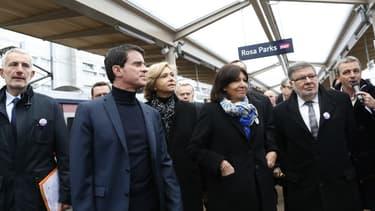 """""""JNous avons décidé avec Alain Vidalies, secrétaire d'Etat aux Transports, que l'État apporterait une contribution supplémentaire de 500 millions d'euros, pour permettre le lancement du chantier Eole, et son lancement dès maintenant"""", a indiqué le Premier ministre."""