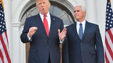 Donald Trump et Mike Pence