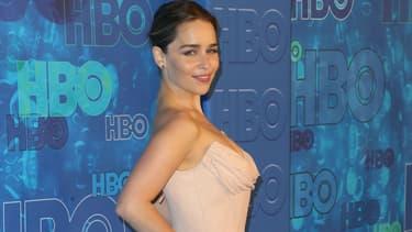 Emilia Clarke à Los Angles en 2016