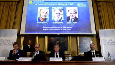 Deux de ces trois économistes viennent de l'université de Chicago.