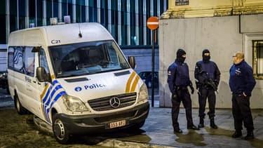 Une opération policière à Liège (image d'illustration)