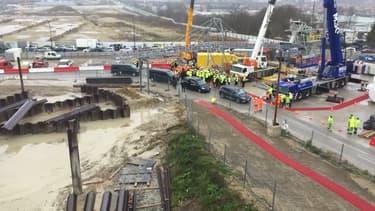 La colline de Gibraltar pourrait être réalisée avec les déchets des chantiers du Grand Paris Express