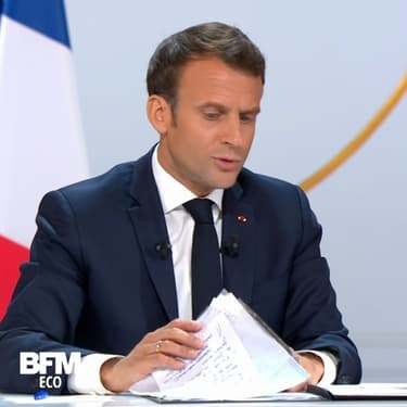 Vrai ou faux ? On a vérifié les affirmations d'Emmanuel Macron sur l'emploi, la croissance et le temps de travail