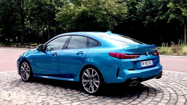 BMW a sorti cette année un coupé quatre portes compact, la Série 2 Gran Coupé.