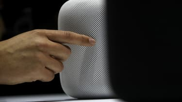Le HomePod d'Apple.