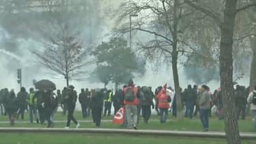 Les tensions à Nantes