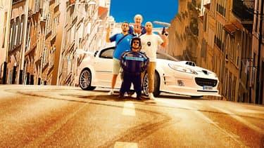 Détail de l'affiche de Taxi 5 de Franck Gastambide.