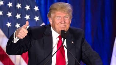 Donald Trump en février 2016