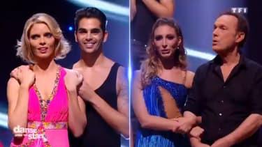 """Sylvie Tellier et Julien Lepers se sont retrouvés en concurrence hier soir dans le quatrième prime de """"Danse avec les stars"""". L'ex Miss France a été éliminée."""