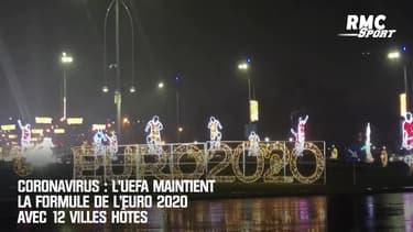 Coronavirus : L'UEFA maintient la formule de l'Euro 2020 avec 12 villes hôtes