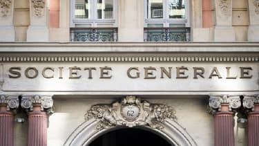 La devanture d'une agence de la Société Générale à Marseille, en novembre 2015.