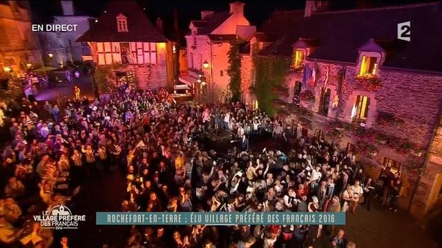 Rochefort-en-Terre, élu village préféré des Français en 2016.
