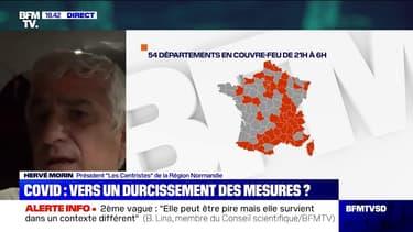 """Hervé Morin: """"On est en train d'aller vers l'apocalypse pour une partie de l'économie française"""""""
