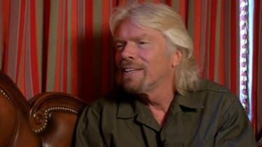 Richard Branson était l'invité de BFM Business