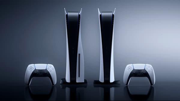 Les deux versions de la PlayStation 5 de Sony