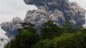 Le volcan Merapi est de nouveau entré en éruption en Indonésie, pour la troisième fois en une semaine, portant le nombre de sans-abri dans la région voisine du cratère à 70.000. /Photo prise le 1er novembre 2010/REUTERS/Dwi Oblo