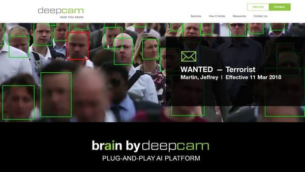 Site Web de DeepCam