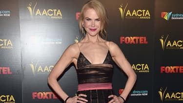 Nicole Kidman à Los Angeles en janvier 2017