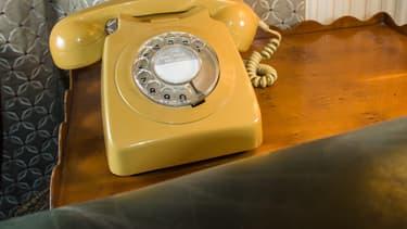 Un combiné téléphonique. (image d'illustration)