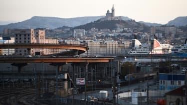 La ville de Marseille, le 10 janvier 2018