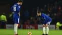 Olivier Giroud et Eden Hazard