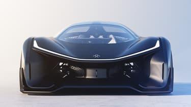 Le concept-car électrique FFZERO1 de Faraday.