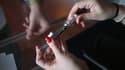 La cigarette électronique au cannabis est présentée ce mardi à Paris (photo d'illustration).