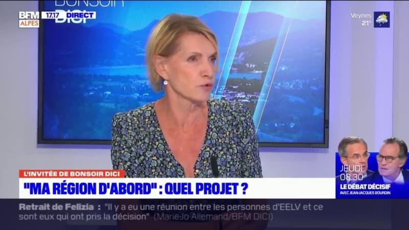 """Régionales en Paca: pour Chantal Eyméoud, tête de liste (LR/UDI) """"Ma région d'abord"""" des Hautes-Alpes, """"l'élection n'est pas faite"""""""