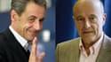 Nicolas Sarkozy se voit distancé par Alain Juppé dans les sondages.