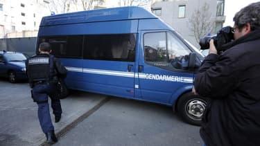 Un fourgon cellulaire de la gendarmerie (image d'illustration)