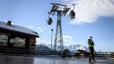 Station de ski de Verbier, dans les Alpes suisses, le 22 décembre 2020