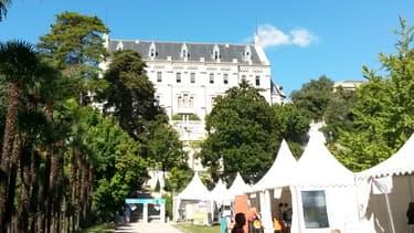 Le château de Valrose, siège de l'Université de Nice