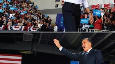 Dans la dernière ligne droite de la campagne présidentielle américaine, Barack Obama et Mitt Romney étaient vendredi en déplacement dans les États du Midwest susceptibles de faire la différence en faveur de l'un ou de l'autre la semaine prochaine, alors q