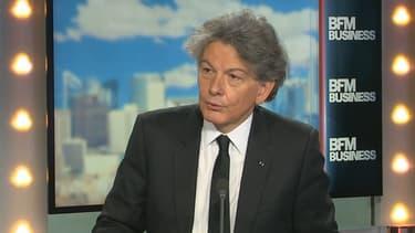 Thierry Breton était l'invité de BFM Business ce lundi 2 janvier