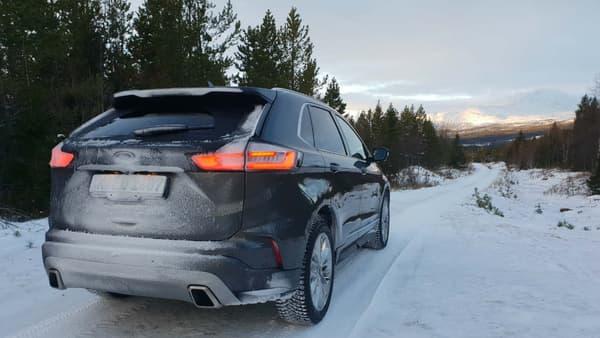 Les paysages de Suède, un décor idéal pour essayer ce SUV en transmission intégrale.