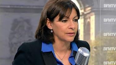 Anne Hidalgo, adjointe au maire de Paris et candidate à sa succession dans la capitale lors des élections municipales de 2014.