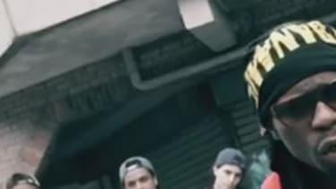 """Le rappeur Jo le Pheno dans son clip """"Bavure""""."""