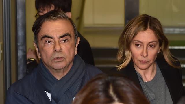 Carlos et Carole Ghosn