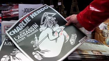 """""""Charlie Hebdo"""" a tiré son numéro spécial à un million d'exemplaires"""