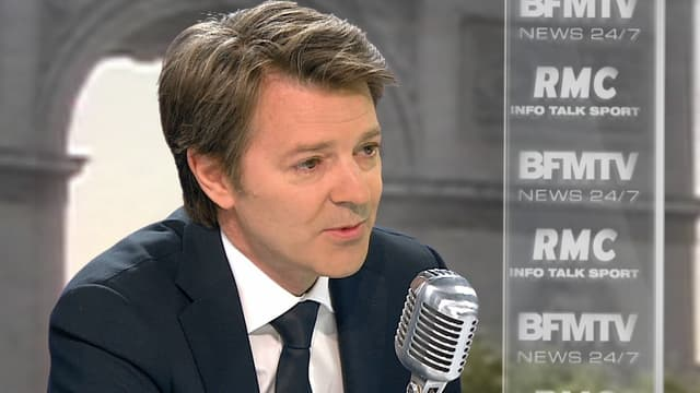 François Baroin sur le plateau de BFMTV-RMC, le 24 juin 2015.