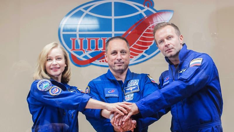 Regarder la vidéo Le tournage du 1er film en orbite raconté par son réalisateur: